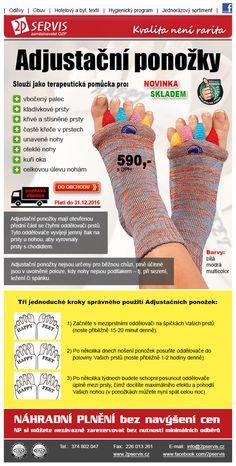 ★ ★ Adjustační ponožky udělají Vaše nohy Šťastné ★ ★