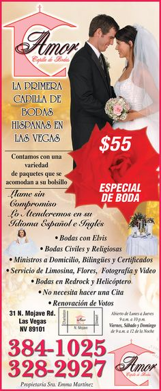 Las Vegas Review Journal, Civil Wedding, Weddings