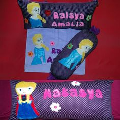 Ciloets handmade bandung ind Frozen cushion (elsa and anna)  Order : BBM D051D413 Wa 081220578859