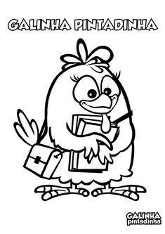 atividade escolar galinha pintadinha
