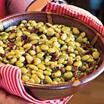 Home-Style Butterbeans - correction to recipe 1-2 cups water!  I don't like sweet so cut back on the brown sugar
