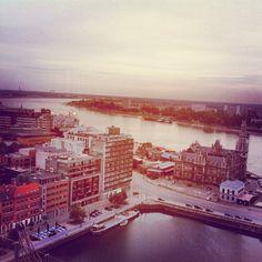 pic by @AbdulAziz Bukhamseen Is Antwerp View from MAS - Schelde