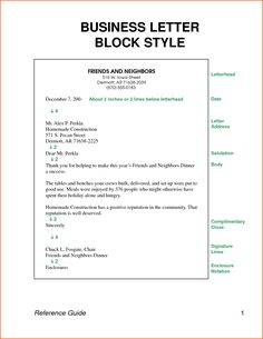 Business Letter Format Page Multiple Pages Footer Sample  Home