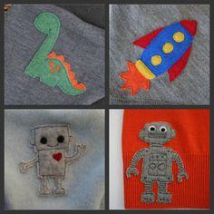 little stitch applique customs