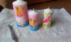 .: Velas decoradas y perfumadas