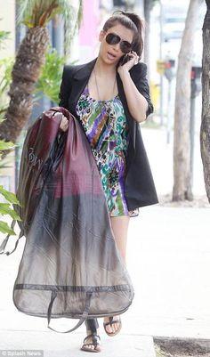 Printed Dress - Kardashian