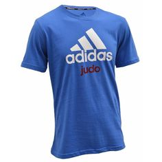 4a7a0bed9e788 Tee Shirt adidas Judo Community Boxe, Suppléments De Gymnastique, Judo,  Chemises Cool,