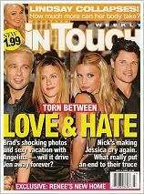 Jennifer Aniston, Jessica Simpson - InTouch Weekly