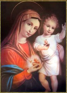 Immaculate and Sacred Hearts~