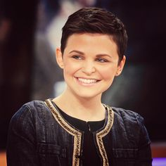 She is the cutest!  My first inspiration for going short. Pixie Cropped