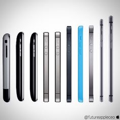 Look how much the iPhone has evolved in such a short time.