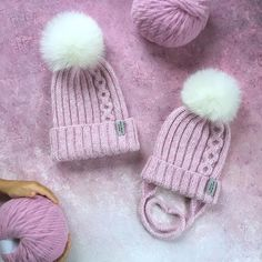 Lana, Knitted Hats, Knit Crochet, Projects To Try, Winter Hats, Knitting, Fashion, Beanie Babies, Caps Hats