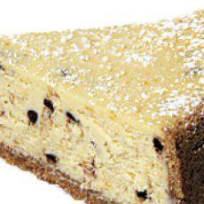 Easy Cannoli Cheesecake Pie