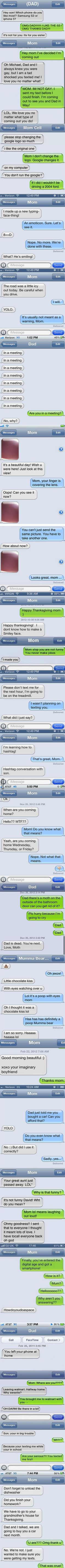 22 Reasons Why Parents Shouldn't Text