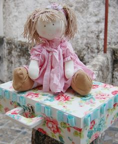 She's so cute, isn't she? ~ Mariana Doll & Carrying Case by  Infinita Arte ~