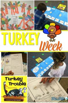 Thanksgiving Week Lesson Plans: Peek at my week
