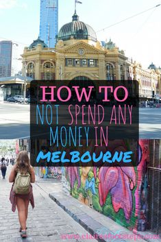 Here's how to do Melbourne on a budget - an ultra low budget. Here's how to do Melbourne on a budget - an ultra low budget. Source by winter Free Things to do in Melbourne Perth, Brisbane, Sydney, Travel Money, New Travel, Cheap Travel, Budget Travel, Travel Tips, Travel Destinations