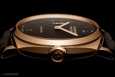 Panerai Radiomir 1940 3 Days Automatic micro rotor a new case made of one block alloy of 5N red gold, with platinum.