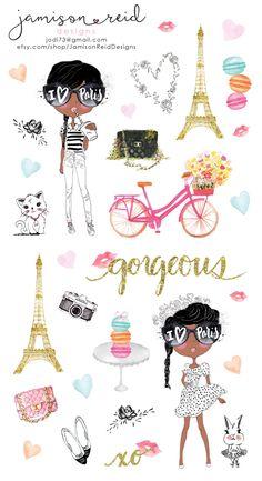 Je'taime Paris planner stickers Kate Spade by JamisonReidDesigns To Do Planner, Free Planner, Planner Pages, Printable Planner, Happy Planner, Printables, Planner Inserts, Planner Ideas, Best Planners
