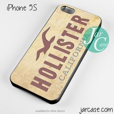 hollister Phone case for iPhone 4/4s/5/5c/5s/6/6 plus