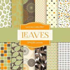 Leaves Digital Paper DP4238