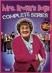 cds dvds vhs: Mrs Browns Boys: Complete Series 1-4 Dvd Box Set,Free Shipping, Brand New. BUY IT NOW ONLY: $33.0