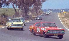 BATHURST, 1968, 2 HK Monaro 327-V-8's. v@e. Holden Monaro, Aussie Muscle Cars, The Great Race, V8 Supercars, Australian Cars, Car Racer, Motor Car, Motor Sport, Old Race Cars