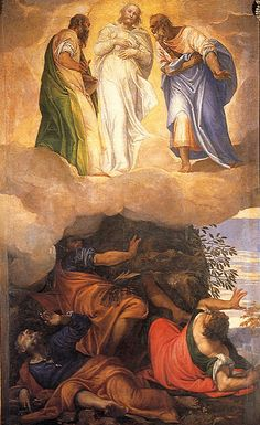 NOVENA in Honour of and preparation for, the Feast of the Transfiguration of our Lord – Day Six – 2 August Christian Artwork, Christian Images, Catholic Art, Religious Art, Michelangelo, Pontius Pilatus, Venetian Painters, The Transfiguration, Life Of Christ