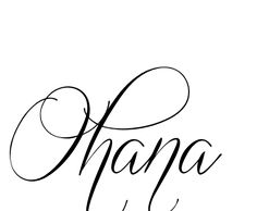 Image detail for -This Ohana Tattoo was created using our unique service. Tattoo Made ...