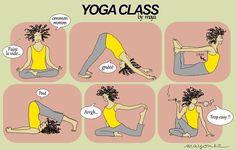 Yoga Class by Maya