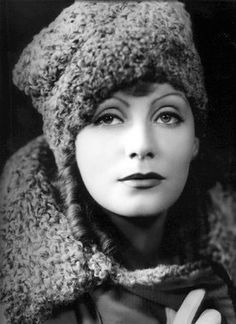 (Forgetmenot: Cecil Beaton) Greta Garbo, Only one comes along 500 years and they always see through the same eyes.