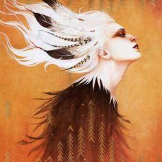 So beautiful. Shapeshifters by Silvya Ji.