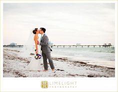 Sandpearl Resort Clearwater, Limelight photography, wedding photography, wedding, wedding day, Florida wedding, beach wedding, bride, groom