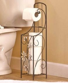 Jeweled Flower Toilet Paper Holder W/ Dispenser Bathroom Storage Organizer Decor Free Standing Toilet Paper Holder, Toilet Paper Stand, Toilet Paper Storage, Bathroom Storage, Tissue Paper Holder, Paper Holders, Family Wall Decor, Toilet Roll Holder, Bathroom Collections