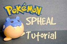 SPHEAL Polymer Clay Pokemon TUTORIAL- タマザラシ