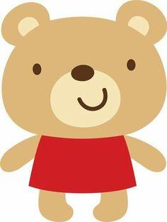 Create a Critter 04 Cartoon Drawings, Animal Drawings, Cute Drawings, Baby Animals, Cute Animals, Create A Critter, Bear Illustration, Baby Clip Art, Cute Clipart