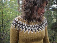 free pattern: Icelandic Lopi Sweater