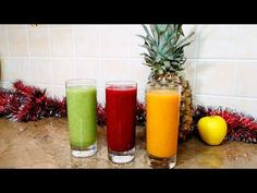 3 băuturi de detoxifiere/ slăbire   Danutax - YouTube Healthy Juice Recipes, Healthy Juices, Healthy Drinks, Voss Bottle, The Creator, Youtube, Food, Fitness, Diet