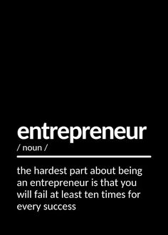 I'm convinced that about half of what separates the successful entrepreneurs from the non-successful ones is pure perseverance. Inspirational Quotes For Entrepreneurs, Inspirational Quotes About Success, Success Quotes, Successful Entrepreneurs, Quote Posters, Custom Posters, Separates, Positive Vibes, Self Love
