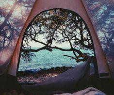 camping views //
