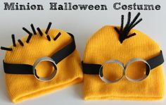 How To Quick and Easy DIY Despicable Me Minion Costume: DIY Halloween Costume : DIY Minion Costume