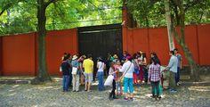 Fonoteca, en el corazón del barrio de Santa Catarina, Coyoacan Foto Mónica Tapia A.