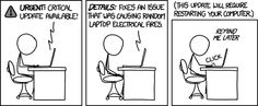"""""""I have a bunch of things open right now."""" XKCD nails it again."""