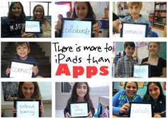 Great read: There is more to iPads than APPS... turn the focus on pedagogy and see the iPad as a LEARNING and THINKING tool.