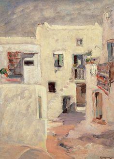 Ο Γεώργιος Δ. Κοσμαδόπουλος (Βόλος, 1895 – Αθήνα (;), 1967) ήταν έλληνας ιμπρεσιονιστής ζωγράφος. Νησιώτικο σοκάκι