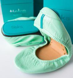 Minty flats...Teiks shoes love them