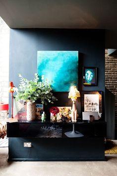 Викторианская квартира дизайнера Abigail Ahern в Лондоне - Сундук идей для вашего дома - интерьеры, дома, дизайнерские вещи для дома