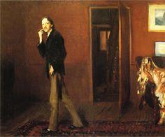 Robert Louis Stevenson and his Wife -- John Singer Sargent