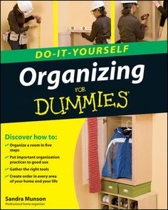 Organizing Do-It-Yourself For Dummies:Book Information - For Dummies