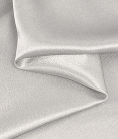 FABRIC1: Silver Crepe Back Satin Fabric |  Light to Medium Weight  onlinefabricstore.net